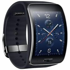 "Samsung Galaxy Gear S R750 SM-R750A 2"" SuperAMOLED Smart Watch Black Refurbished"