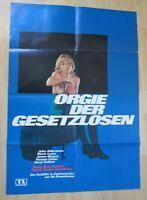 Filmplakat - Orgie der Gesetzlosen ( John Alderman , Maria Lease )
