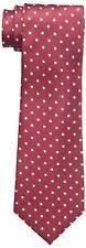 $124 COUNTESS MARA Men RED DOT CLASSIC SILK NECK TIE SKINNY NECKTIE 58x3.25