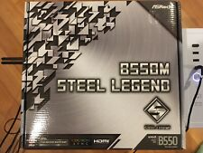 Asrock B550M STEEL LEGEND AMD MATX Motherboard