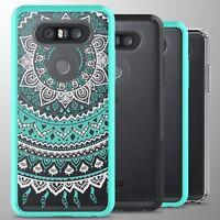 For LG Q8 Case Hard Back Bumper Slim Shockproof Phone Cover