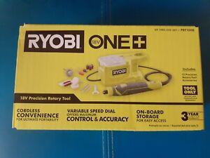 Ryobi PRT100B 18-Volt ONE+ Cordless Precision Rotary Tool.NEW (Tool & Bits Only)