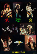"Vintage Led Zeppelin 1972 Poster Replica 13 x 19"" Photo Print"