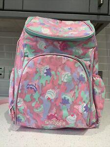 Large Smiggle Icecream Backpack Girls School Bag