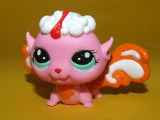 P1) Littlest Pet Shop LPS - Orange Pink Fairy Elfe Blütenelfe #2835