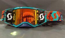 2019 Scott Prospect MX Goggle Racer Pack Blue Orange - Orange Lens - Black WFS
