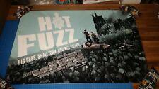 HOT FUZZ - MONDO Screenprint by JOCK - xxx/275 - VARIANT - SDCC