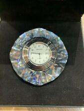 Swarovski Crystal Polar Star Clock 9280 103 201  MIB W/COA