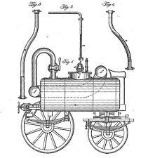 Alte/Antike Dampfmaschine: Geschichte/Infos 1836-1870