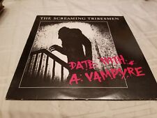The Screaming Tribesman Date With A Vampire Vinyl Record LP - 1985 What Goes On
