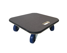 More details for 48x48 carpet-topped furniture skate dolly moving trolley 600kg lc 10cm wheels