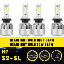 4PCS H7 Headlight Coversion LED Bulb High Beam Kit For 2011 BMW 1 Series M