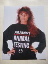 Sandra Lauer Cretu photo photograph #1 Against Animal Testing