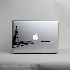 New York skyline mac laptop skin vinyl decal  sticker