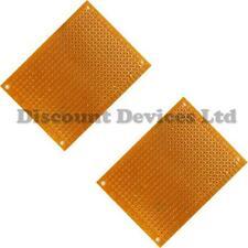 2x   50x70mm Bakelite 1.2mm Single Side Copper Prototype PCB Matrix Board
