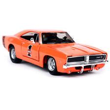 Maisto 1:25 1969 Dodge Charger R/T Harley Davidson Diecast Model Racing Car NIB