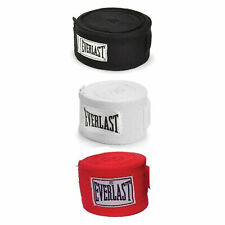 Everlast 120 Inch Polyester Cotton Boxing Sparring Training Hand Wraps (3 Pack)
