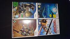 Wii Bundle 4 Spiele Sea Monster, Wing Island , Monster Hunter 3, Links...