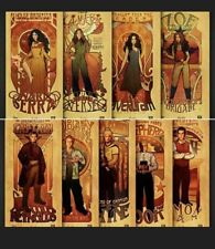 9 Loot Crate Firefly Posters