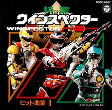 WINSPECTOR - CD ost 2 tokusatsu - Seiji Yokoyama ( Saint Seiya ) Club Dorothée