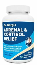Dr. Berg's Adrenal & Cortisol Relief: Natural Stress & Anxiety Relief for a