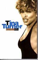 Tina Turner Simply The Best 1991 Cassette Tape Album R&B Pop Greatest Hits Soul