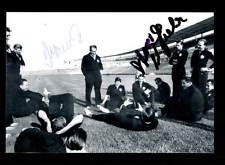 Deutschland WM 1958 Foto 3x Original Signiert+A 150833