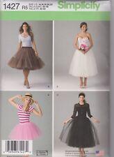 From UK Sewing Pattern Tulle Skirt underskirt overskirt 14-22  #1427