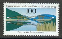 Germany 1992 MNH Mi 1630 Sc 1760 Opening of Main-Danube. Railroad bridge. **