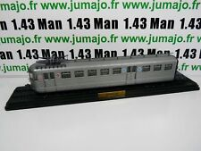 AM16E Automotrices train SNCF 1/87 HO BUDD Paris Le mans Z  3701 1938 1° élément