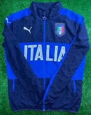 ITALY NATIONAL TEAM 2016/2017 HOME FOOTBALL SOCCER JACKET PUMA ADULT SIZE M