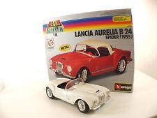 Bburago Metal Kits - Lancia Aurelia B24 Spider '55- 1/18 en boite / boxed MIB