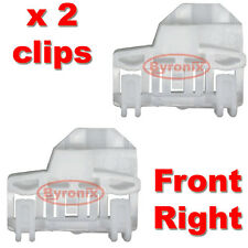 VW POLO WINDOW REGULATOR CLIPS - FRONT RIGHT Drivers Side on RHD