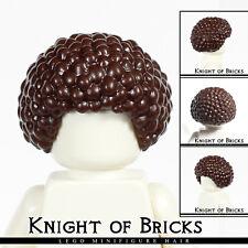 LEGO Minifigure Hair DARK BROWN 87995 Female Girl Bubble Style Afro