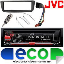 Peugeot 107 2005-2014 JVC CD MP3 USB Aux Ipod Car Stereo Radio Facia Fitting Kit