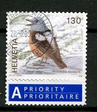 Switzerland 2006-9 SG#1674b 130c Birds Definitive Used + Label #A48997