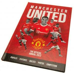 Manchester United Football Club FC 2022 Official Hardback Annual MUFC EPL