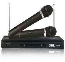 Micrófonos profesionales FM