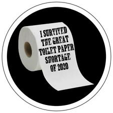 I Survived the Great Toilet Paper Shortage of 2020 Window Car Decal Sticker