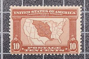 Scott 327 10 Cents Louisiana MNH Nice Stamp SCV $300.00