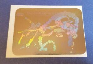 1990 Marvel Impel Universe Series 1 Spider-Man Vs Green Goblin Hologram Card MH5