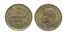 pci2528) Regno Vittorio Emanuele III (1900-1943) 2 Centesimi Valore 1908