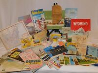 1950's Western US, British Columbia Memorabilia, Travel Brochures, Post Cards