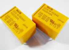 2 x Relais 24V 1xUM 125V 0,6A 30V 2A NAIS DS1E-M-DC24V Gold #20R34A#