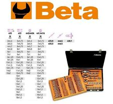 Beta 446/C110 Assortimento Serie Filiera metrica 2-18 mm 110 PCS Beta 446/C110