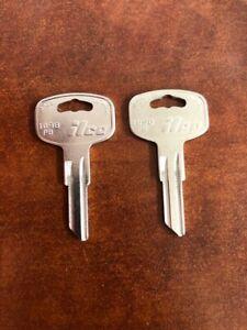 Ilco for Peterbilt Truck Key Blank (1098PB) - 2 Pack
