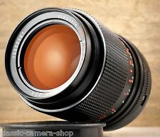M42 telephoto lens CARL ZEISS JENA electric MC SONNAR 3.5/135 Red MC 135mm 1:3.5