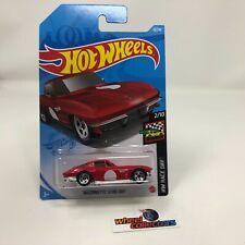 '64 Corvette #10 * RED * 2021 Hot Wheels Case A * WJ2
