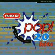 Erasure - Pop! - The First 20 Hits - Erasure CD J3VG The Cheap Fast Free Post