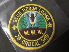 Blue Heron 349 1979 Ordeal Patch eR1979-3  mc19